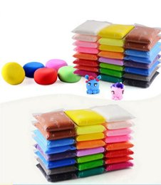 Les fabricants populaires vendent des sacs en plastique faits à la main de bricolage faits à la main de jouets colorés en argile super légers d'argile 100g ? partir de fabricateur
