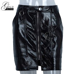 97b343f1c496ba Promotion Mini Jupe En Cuir Noir Sexy | Vente Mini Jupe En Cuir Noir ...