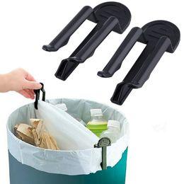 Пластиковый держатель дешевый онлайн-4PCS/2Set Practical Trash Can Clamp Plastic Garbage Bag Clip Fixed Waste Bin Bag Holder Rubbish Clip Cheap And Hot