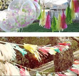 Tassel Lahua en papier de gros pour la noce 35cm DIY 5 pièce / set beaucoup de couleurs pour la fête ? partir de fabricateur
