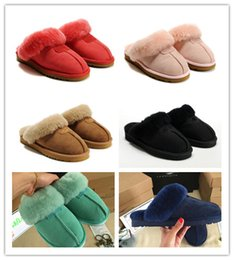 HOT SALE Australia Classic WGG 5125 Warm Cotton slippers Men And Womens  slippers Short Boots Women s Boots Snow Boots Cotton Slippers 2f2d0a842