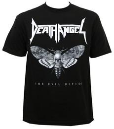 Arte do mal on-line-Autêntico MORTE ANJO Evil Dividir Mariposa Bob Tyrell Art T-Shirt S-3XL NOVO