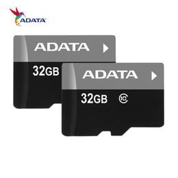 Горячая 100% фактическая емкость ADATA 32 ГБ карты памяти бесплатный адаптер + блистер картонная упаковка + USAFree доставка cheap ship cardboard от Поставщики корабельный картон