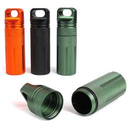 Équipement de survie en plein air EDC Boîtes scellées Boîtes de bouteille de médecine étanche Gadgets extérieurs Équipement de protection Entrepôt étanche ? partir de fabricateur