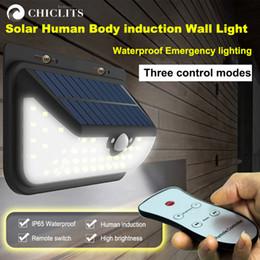 12-вольтовая лампочка Скидка Chiclits открытый солнечный свет датчик движения свет настенный светильник водонепроницаемый беспроводной безопасности ночник с пультом дистанционного управления SP706