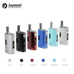 Wholesale Mini Oled - Authentic Joyetech eGrip Kit-US with OLED Screen E Cigarettes Mod Upgraded Joyetech eGrip OLED Starter Kit Aspire Odyssey mini kit