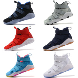 the best attitude ed0b0 d65a1 Soldiers 11 online wholesale discount top quality man basketball shoes size  eur 40-46 free drop shipping affordable soldier 11