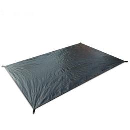 Tapis de camping en Ligne-Camping en plein air Tapis de pique-nique Tapis de plage imperméable Couverture extérieure en plein air Baby Climb Ground Sun Shelter Auvent Matelas de couchage