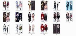Almohadas de cuerpo fresco online-Al por mayor-Funda de almohada Kuroshitsuji personajes de anime cool boy sebastian michaelis ciel phantomhive tiro funda de almohada cuerpo de mayordomo negro