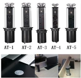 Wholesale Outlet Point - Desktop Socket Kitchen Countertop Point Pull Retractable USB Charger Socket Orvibo Office Lab Desktop Outlet On The Home Table