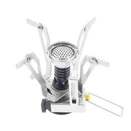 faltender miniofen Rabatt Großhandels-Portable faltendes mini kampierendes Überleben, das Ofen-Ofen-Gas im Freien kocht
