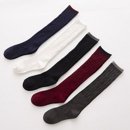 Wholesale Wind Socks - Autumn winter Stockings long socks cotton girl keep warm and Korean pile socks college wind A-0490