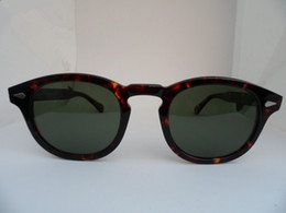 Super-Qualität Star-Stil HD polarisierte Sonnenbrille L M S Johny Depp Italien-importierte reine Plank Brille 3sizes full-set Fall OEM-Outlet-Preis von Fabrikanten