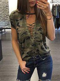Wholesale short sleeve ruffle top - New Women's Ladies Summer Short Sleeve Loose T shirt Casual Shirt Tops T-Shirt