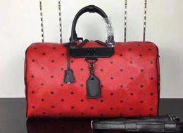 sacos de venda coreano Desconto 2018 venda Coreano saco de viagem de moda de alta qualidade, impressão de grande capacidade PVC + bolsa de viagem de couro 6254