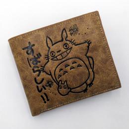 Billetera totoro online-Anime multicapa en relieve Mi vecino totoro Fairydust PU cartera corta