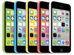 Wholesale 5c Accessories - Original Refurbished Apple iPhone 5C IOS 8.0 Dual Core A6 4.0 inch Retina Screen 1136*640 HD 4G LTE 3G WCDMA Smartphone