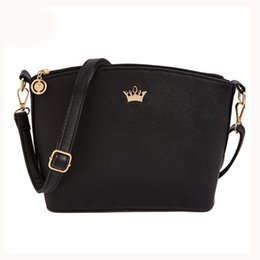Wholesale Imperial Gold - Wholesale- VSEN Hot Women Handbag Casual Women Messenger Bags Shell Pattern Cross Body Bags Women Bag Tote & Imperial Crown candy color