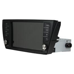 2019 honda civic car dvd gps player 8-дюймовый Andriod 8.0 DVD-плеер автомобиля для Skoda Fabia 2015-2017 с GPS, управление рулевого колеса, Bluetooth, радио