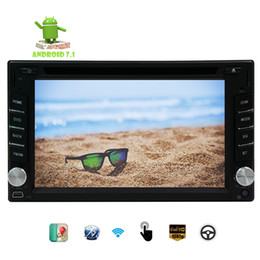 Wholesale german maps - 6.2''GPS Car DVD Player Octa-core Android 7.1 Double din Car Radio Stereo in Dash RDS Radio Bluetooth GPS Map Navigation Headunit