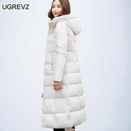 6f11e593d82 2018 New Women Padded Jacket Winter Long Sleeve Hooede Thick Causal Long  Quilted Coat Feminino Plus Size Solid Slim Parkas XXXL C18111301