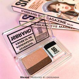 Canada 16Brand Cosmetics Kit double ombre à paupière facile facile à utiliser par deux couleurs Offre