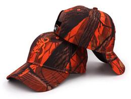 Canada Livraison Gratuite Nouveau Browning Realtree AP® Blaze Orange camo Caps de chasse Camouflage Feuillus Chasse Chapeau Big Game Chasse Browning Caps Offre