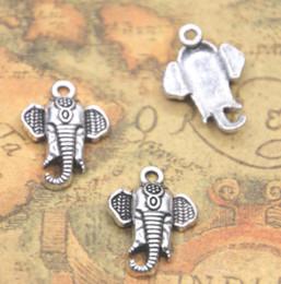 2019 elefantencharme schmuck machen 20 teile / los Der elefant kopf Silberton Charms Anhänger Religiöse Überzeugungen charme Schmuck Machen 15x21x3mm günstig elefantencharme schmuck machen