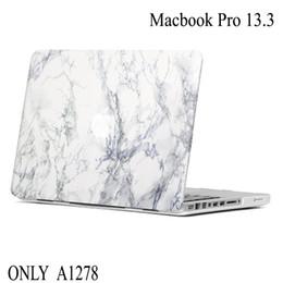 2019 marmo macbook Fashion Marble Stone PC per MacBook Pro 13 A1278 Custodia protettiva per laptop Custodia rigida per MacBook Pro 13.3 marmo macbook economici