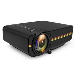 2019 tablet proiettore dlp New YG400 Mini Proiettore 1000 Lumens Video Proiettore LED Home Theater Portatile Proyector Cinema Beamer Videogioco Projetor HDMI USB VGA