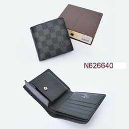 Wholesale Fur Clutch Black - Promotion new mens leather top Wallet Men 2016 Brand Coin Wallet Small Clutches Men's Purse Coin Pouch Short Men Wallet