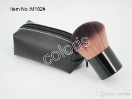 goat hair face brushes Coupons - Makeup Single Face Powder Blush Brush #182 Kabuki Brush Mushroom-shaped Professional Brush