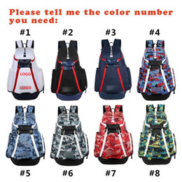 Wholesale Football Shoes Bag - Basketball Backpacks New Olympic Team Packs Backpack Man's Bags Large Capacity Waterproof Training Travel Bags Shoes Bags Free Shipping