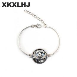 porcellana bracciali anelli Sconti XKXLHJ 1 pezzo / modello di arte di esplosione del modello di arte del braccialetto d'argento Prezzo dei monili del braccialetto dell'occhio magico della signora di prezzi degli animali