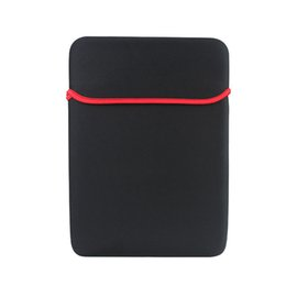 """Wholesale laptop soft cases - 2018 17"""" 10"""" 15"""" Universal Sleeve Carrying Neoprene Pouch Soft Case Laptop Pouch Protective Bag For Macbook iPad Tablet PC Protective Cover"""