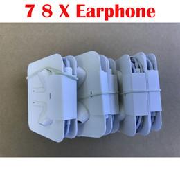 Canada 7-generation 7p Earphones Fox 100% Genuine Original OEM Wired headphone in ear headphones earphone With Remote Mic Control for 7 8 plus x Offre