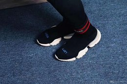 9926d8d2f4f91 VETEMENTS SS CREW UNISES Sock Trainer Dropping RUNNING Shoes CN3307 Luxury  Brand Casual Shoes Grey Black Socks Shoes