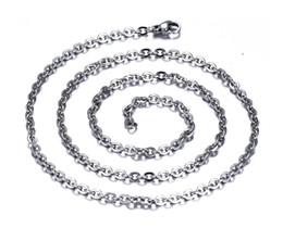 Wholesale Cheap Chain Necklaces For Men - whole saleKittenup Whole Cheap (2MM-3.2MM) 50CM New Fashion Silver Color Chains Necklace For Women men Jewelry HL0275