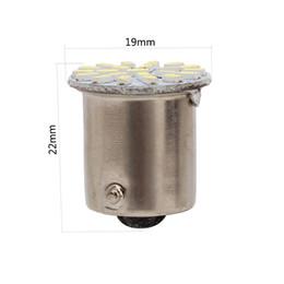 2019 ampoules led pour rv Ampoules de haute qualité de P21W BA15S 1156 3014 22SMD LED utilisées pour sauvegarder les lumières de frein de lumière inverse Tail Lights RV s'allume blanc ampoules led pour rv pas cher