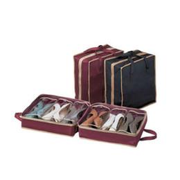 Portable Shoes Storage Travel Bag Shoes Case Organizer Tote Bag Portable Non-woven Shoe Box Storage Boxes Bins Storage Boxes & Bins