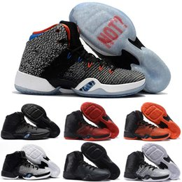 Wholesale Russell Westbrook Shoes - NEW 2017 Retro XXXI Why Not Westbrook 30.5 31 PE Basketball Shoes for Top quality OKC Russell 31 Black Cat Eye Wolf Sports Sneakers Size7-12
