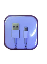 Wholesale Cable Wire Box - 1M 3FT USB Cables Charging Adapter Cords Charger Wire Sync Data Line With Crystal Retail Box