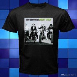 feb3fe9117a Nuevo The Essential Cheap Trick Portada del álbum Música Camiseta negra  Talla S - Camiseta 3XL camiseta de hombre Tops Camisetas