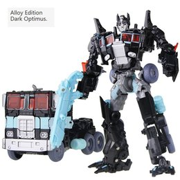 Niños 12 años modelo online-Transformer Toys Robot Puzzle Juguete educativo para niños Niños nuevo modelo de juguete Regalo de Navidad Juguetes de color negro para más de 3 años niños