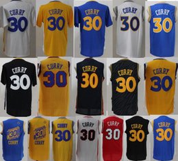 Wholesale Cheap Basketball Wear - Cheap Basketball 30 Curry college Jerseys Throwback Classic Current Sport Shirt Wear Adult boy Stitched Chinese Heritage Yellow Jersey