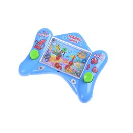 Wholesale Console Metal - 1PCS New Funny Water Machine Water Ferrule Game Consoles Kids Children Classic Intellectual Toys