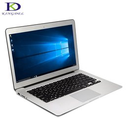 Wholesale Netbook Inch Windows - Kingdel laptop Netbook 13.3 inch Core i5 5200U 5Gen 4GB RAM 256GB SSD,HDMI, USB 3.0,Windows 10 aluminium ultrabook