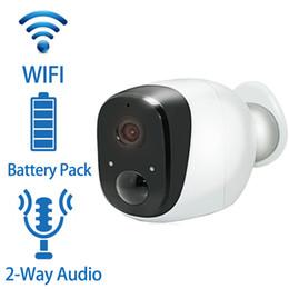outdoor wireless wired ip camera Desconto Câmera IP Sem Fio Bateria 720 P HD À Prova de Intempéries Ao Ar Livre P2P PIR Câmera de Segurança Em Casa Wi-fi com Bateria Câmeras de Vigilância IP