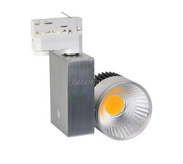 Wholesale Dimmable Led Spot Ceiling - 120lM W Non Dimmable CRI >85 10W LED Track Light 2 3 4 wire available Clothing Store Lighting Ceiling Spot LED AC100-277V