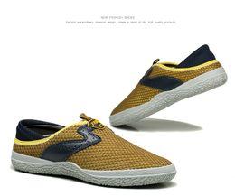 Wholesale Men Campus Shoes - new 2018 Men leisure shoes fashion top quality casual shoes yellow campus shoes